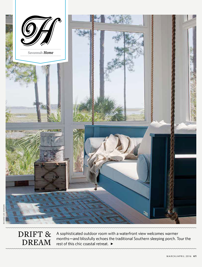SF Jenkins Interiors Press-Savannah Magazine Cover