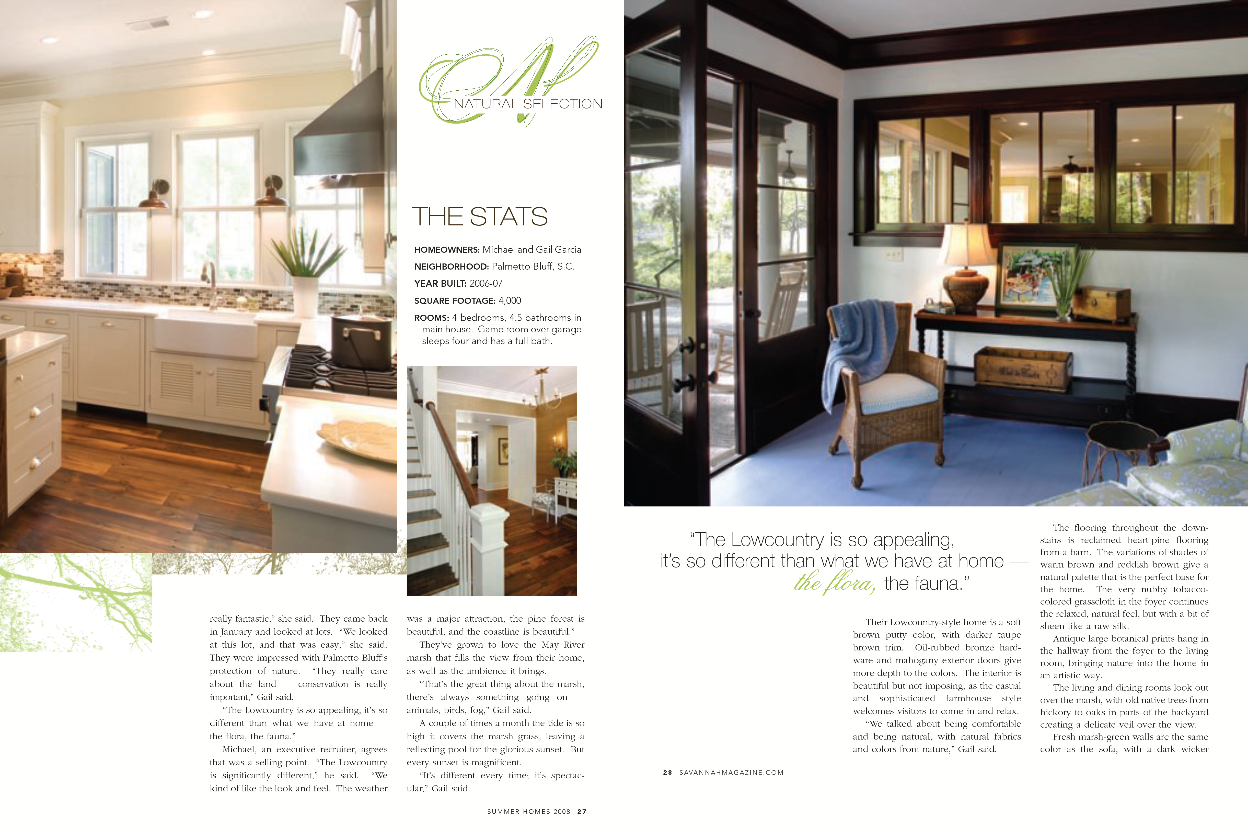 SF Jenkins Interiors Inc. | Savannah Magazine