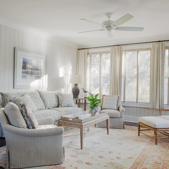 Brays Island Cottage Interior Design by SF Jenkins Interiors, Inc.